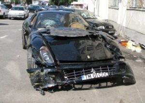 Novitec Ferrari 599 GTB din Timisoara - Wrecked Exotic