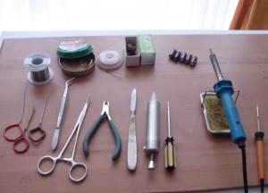 Instrumente pentru reparaţie