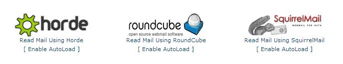 cPanel X - Webmail