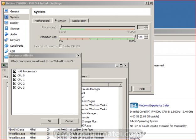 VirtualBox performance issues on Multi-core CPU Tweaking